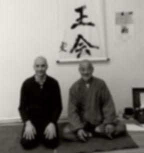 Patrick Joubert et Sasaki Sensei