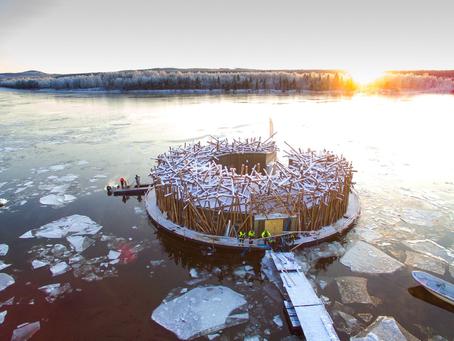 Arctic Bath | Το ολοκαίνουριο οικολογικό ξενοδοχείο που επιπλέει στον ποταμό Lule της Σουηδίας