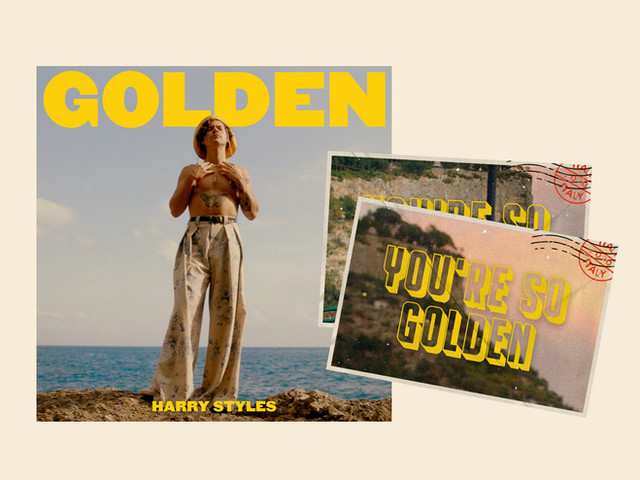 """Golden"" Harry Styles Columbia Records"