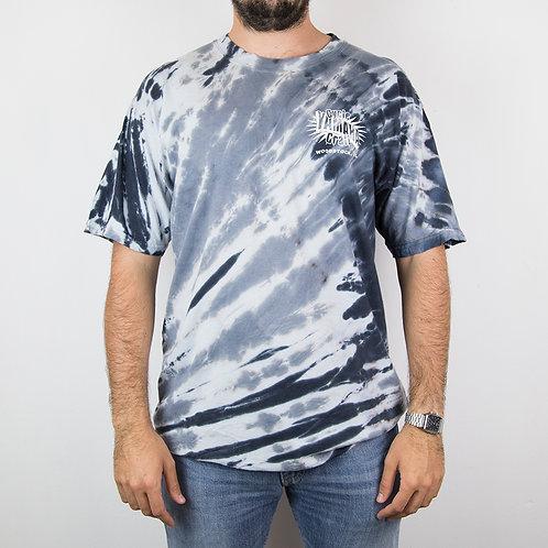 Camiseta tie dye Woodstock. Talla L