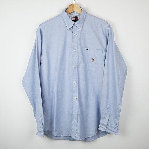 Camisa Tommy  azul. Talla L