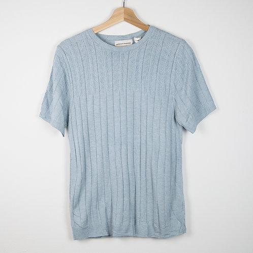 Jersey 60s azul manga corta. Talla S