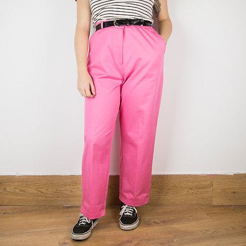 Pantalón 80s rosa. Talla 40-42