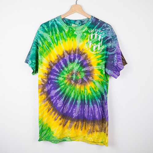 Camiseta tie dye Family. Talla M