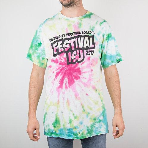 Camiseta tie dye Festival. Talla L