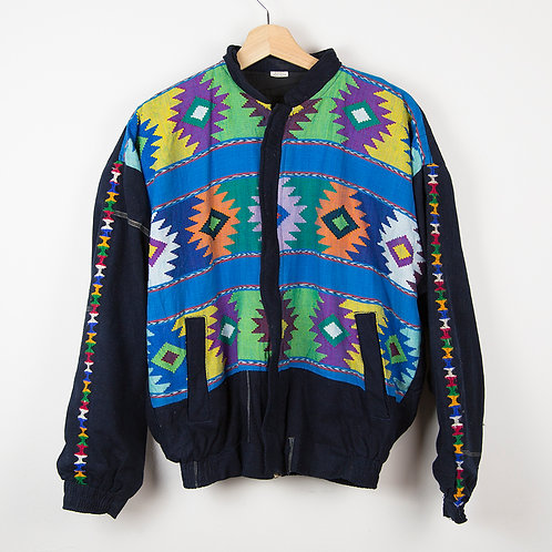 Chaqueta navajo multicolor. Talla M