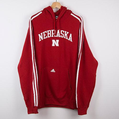 Sudadera Adidas Nebraska. Talla XL