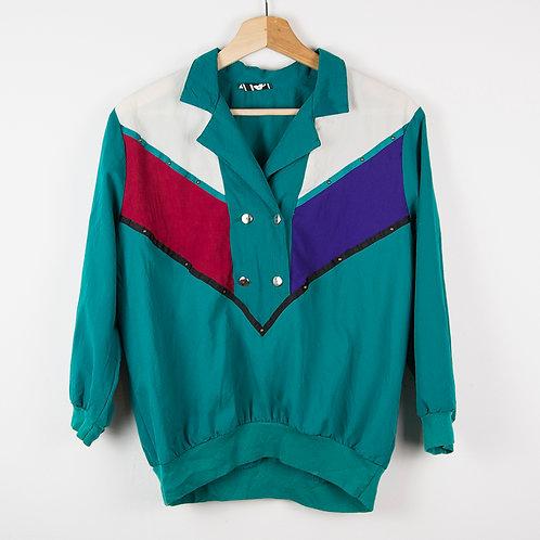 Crazy jacket green. Talla S-M