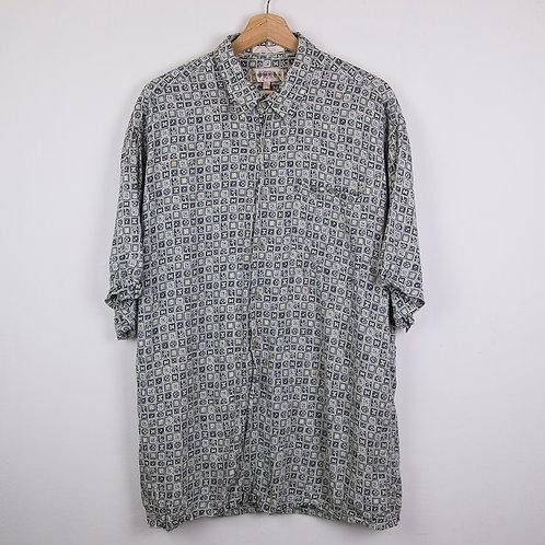 Camisa estampada Campia. Talla XL