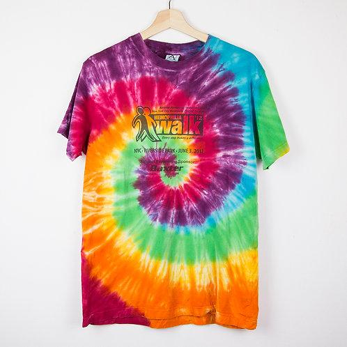 Camiseta tie dye Walk. Talla M