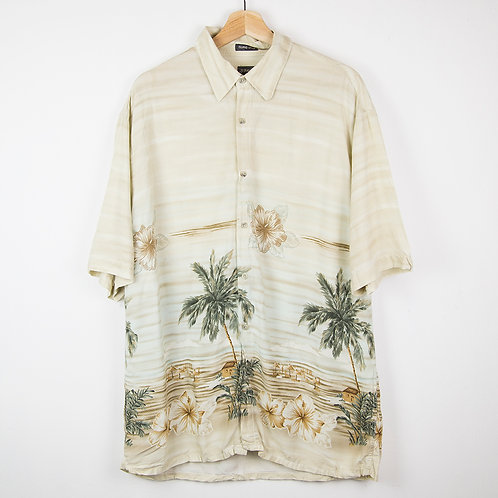 Camisa hawaiana Island. Talla L