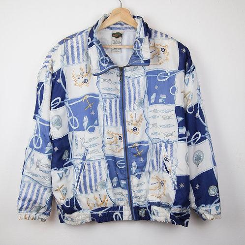 Crazy jacket seda marine. Talla L