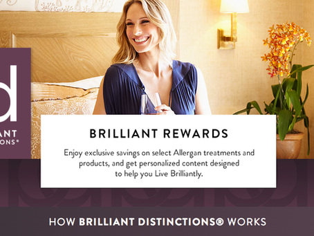 Free Botox? YES PLEASE!             101: Brilliant Distinctions Points