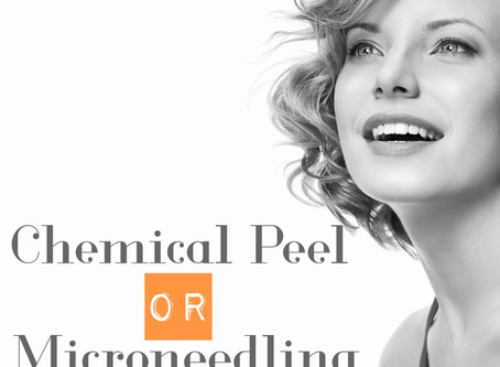 Chemical Peels OR Microneedling?