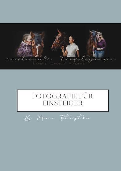 Fotografie für Einsteiger - PDF
