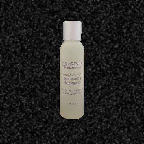Sweet Almond & Vanilla Massage Oil