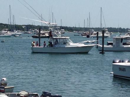Nantucket harbor.