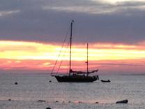 Sunset in Menemsha
