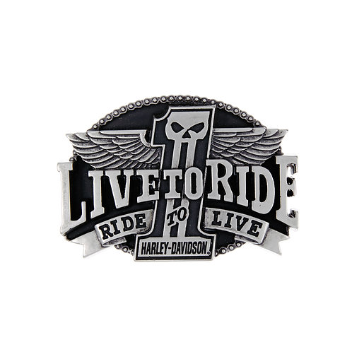 Live to Ride Buckle