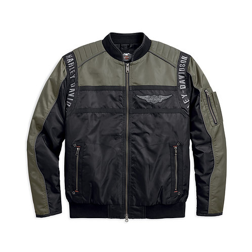 Men's Mainstreet Nylon Bomber Jacket