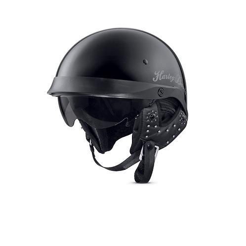 Black Impulsive Half Helmet