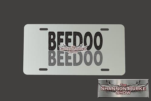 BeedooBeedoo Alumium License Plate- Silver