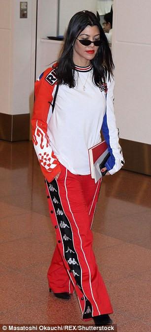 Kourtney Kardashian in Tokyo, Japan