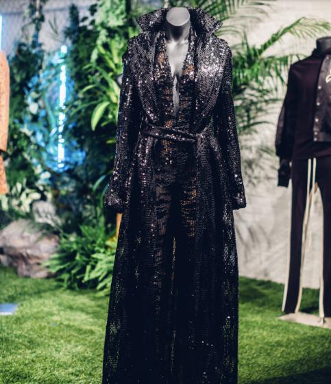 Black Panther at New York Fashion Week, Laquan Smith