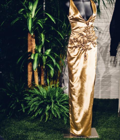 Black Panther at New York Fashion Week, Cushnie et ochs