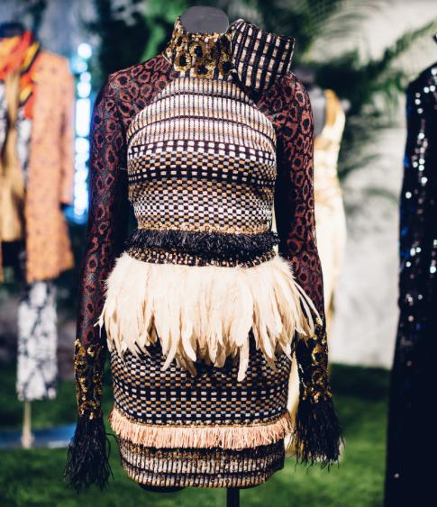 Black Panther at New York Fashion Week, Sophie Theallet