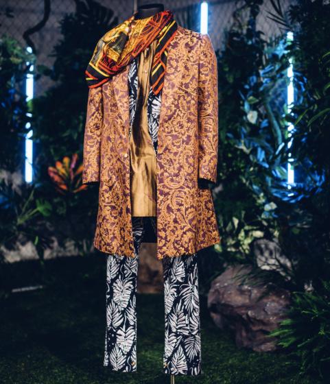 Black Panther at New York Fashion Week, Ikire Jones