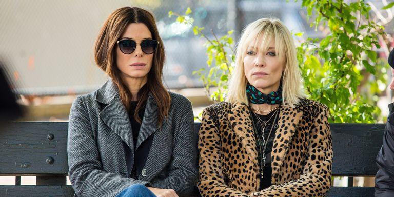 Sandra Bullock, Cate Blanchett; Ocean's 8 Movie; Street Style