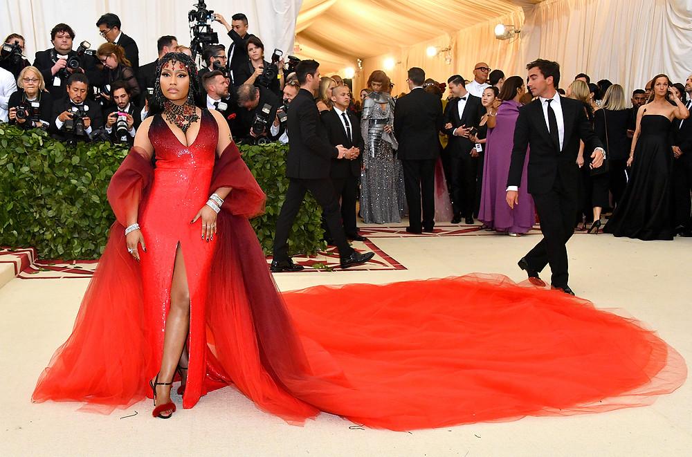 Nicki Minaj at the Met Gala 2018