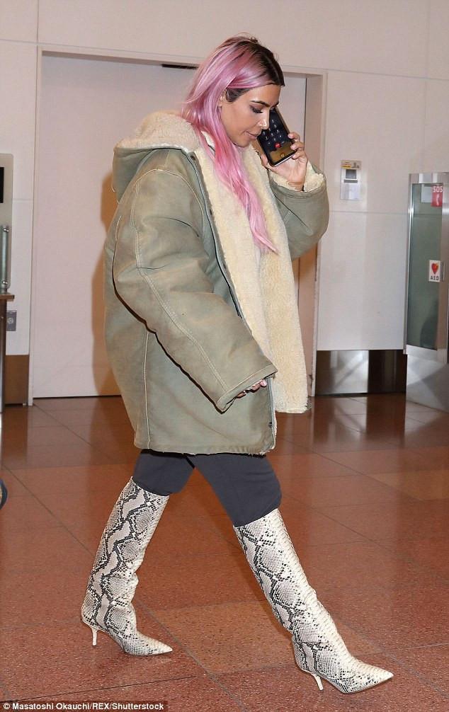 Kim Kardashian West in Tokyo, Japan