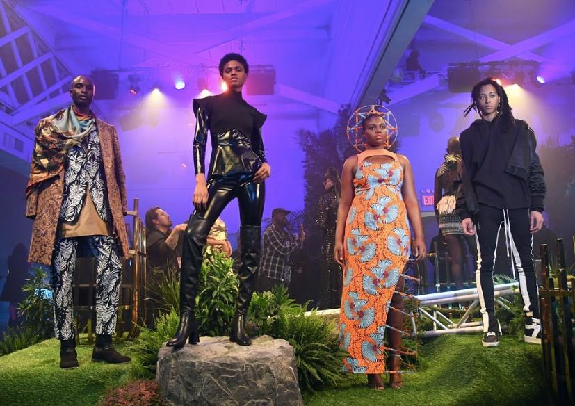 Black Panther at New York Fashion Week