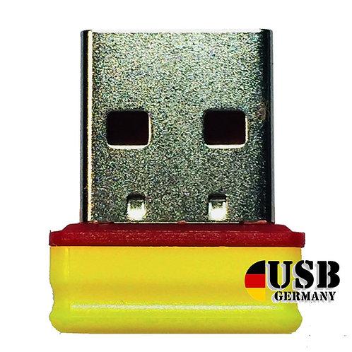 P1 USB Stick  Gelb Rot