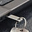 Thumbnail: Mini Key USB Stick Silber 64GB