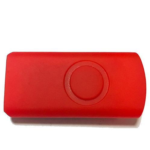 Rote Halbschale für USB Stick Swivel / Twister