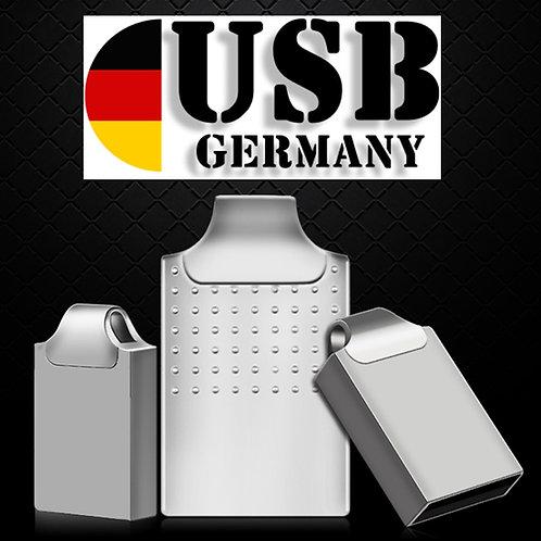 M4 SILBER MINI - Metall USB Stick 1GB - 64GB