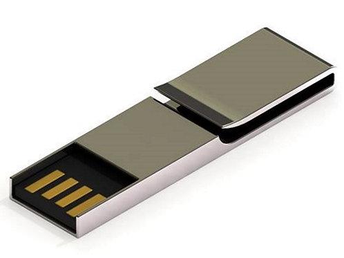 PaperClip Metall USB Stick Silber 2GB