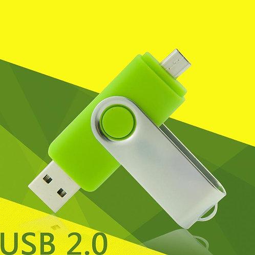 OTG USB Stick Swivel 32GB (Grün)