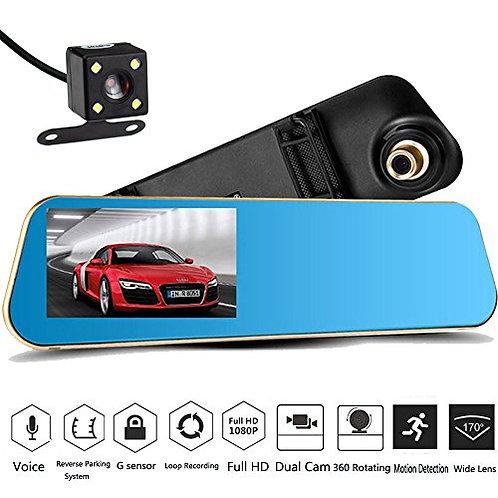 DashCam X10 mit Rückfahrkamera