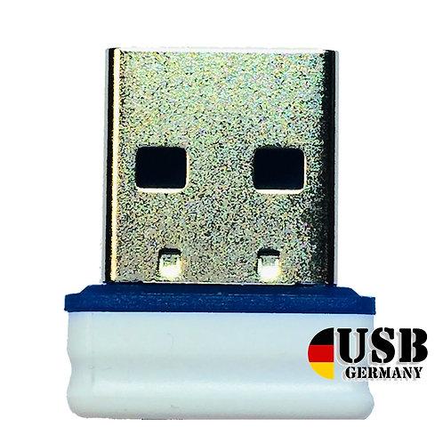 P1 USB Stick  Weiß Blau