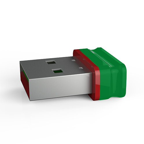 P1 USB Stick Grün Rot