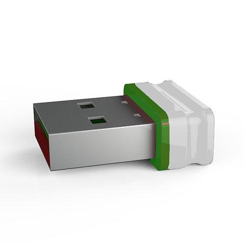 P1 USB Stick Weiß Grün