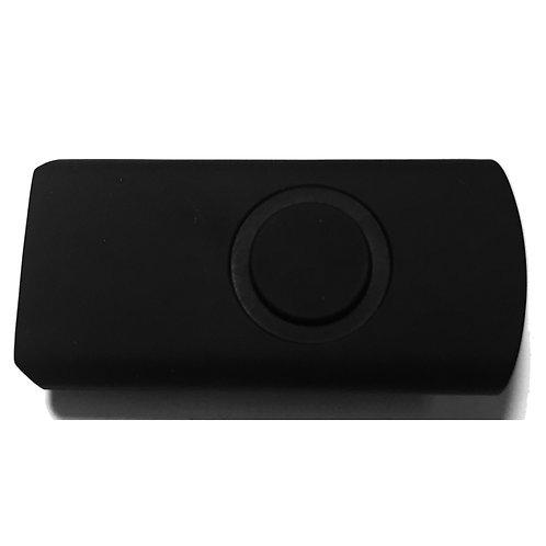 Schwarz Halbschale für USB Stick Swivel / Twister