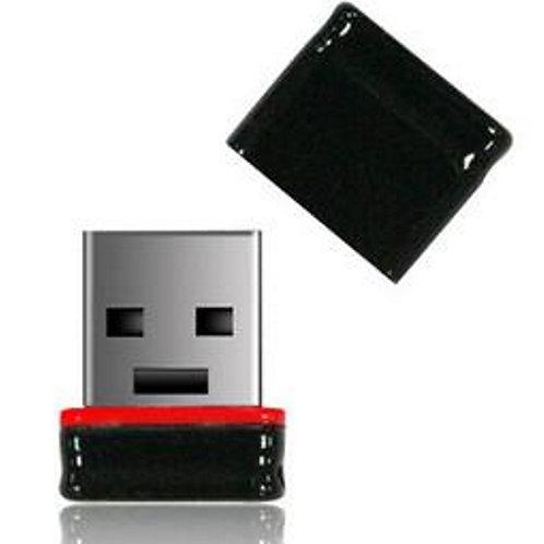 P1 USB Stick 8GB Schwarz Rot
