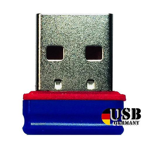 P1 USB Stick Blau Rot