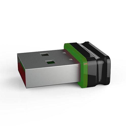 P1 USB Stick Schwarz Grün
