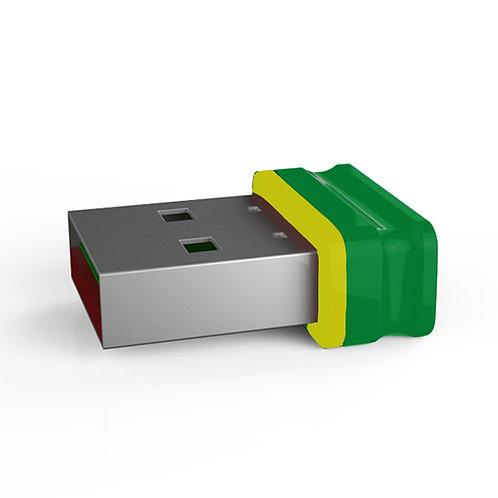 P1 USB Stick Grün Gelb